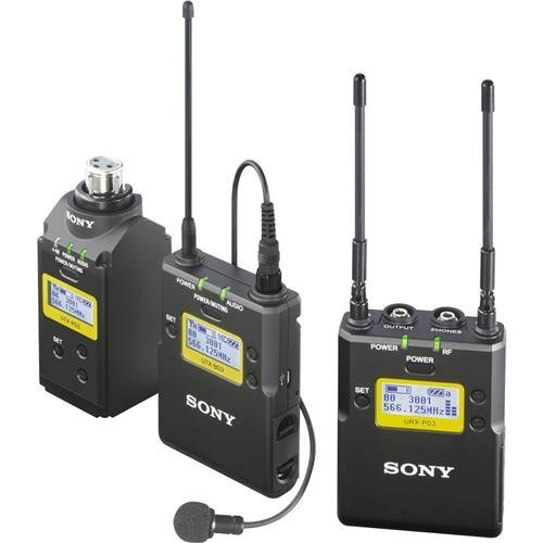Sony UWP-D16 Integrated Digital Wireless Lavalier Microphone Package, Includes...
