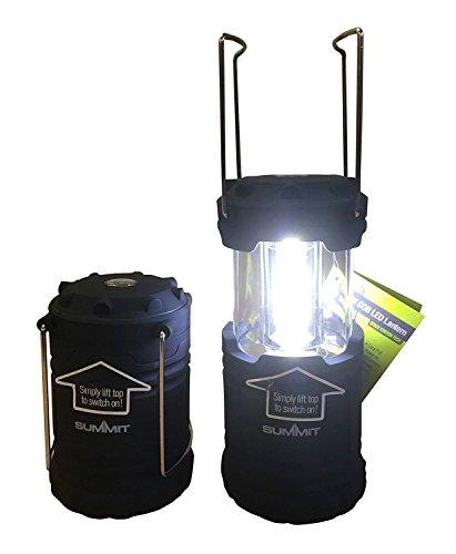 Summit PMS Pliable 9 W 600lumen COB Lanterne L/Batteries 6pièce P