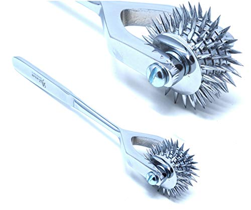 Diagnostic Neurological Wartenberg Sensory Pinwheel Pin Wheel 5 Head (A2ZSCILAB Brand)