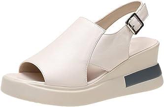 Cortex Slope-sandalen met dikke bodem voor dames (39,Beige)