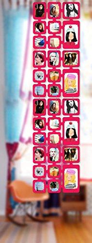 Trendfinding 1,63 m Set Fotos Bilder Raumteiler Rahmen Collage Fotowand Kartenwand Fotovorhang Fototaschen Fotogalerie Kunststoff Fotohalter...