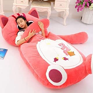 Mopoq Cartoon Cute Animal Bear Child Bed Plush Toy Lazy Sofa Tatami Doll Bed Ragdoll Removable Washable Seat Cushion Kids ...