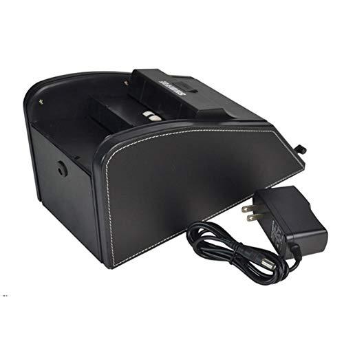 Seasaleshop 2-in-1 Kartenmischer Und Kartengeber Automatische Elektrische Batteriebetriebene Machine Für 1-2 Decks von Spielkarten.