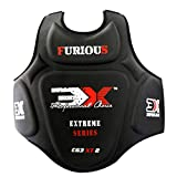 3X Professional Choice Boxe Corpetto Protettivo Taekwondo Torace Petto Guardia Corpo Costola Protezione Arti Marziali Karate MMA Krav Maga Kickboxing trainieren