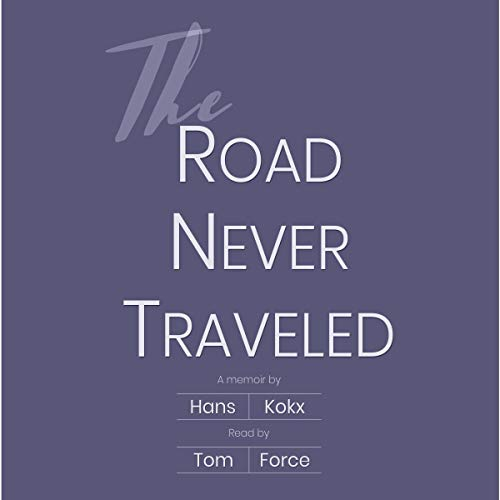 The Road Never Traveled audiobook cover art