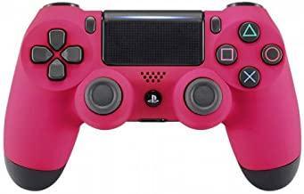 Pink Soft Touch PS4 PRO Rapid Fire Custom Modded Controller 40 Mods for All Major Shooter Games, Auto Aim, Quick Scope Sniper Breath & More (CUH-ZCT2U)