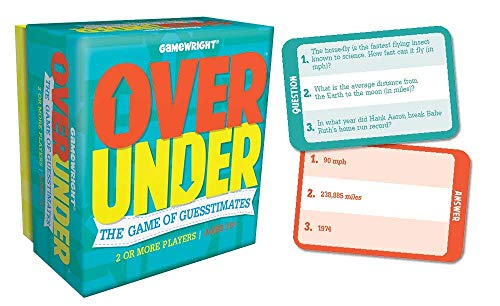 Over/Under - The Game of Guesstimates, Standard Packaging