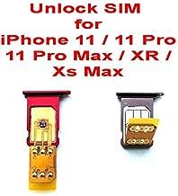 Nano Unlock SIM Chip for iPhone 11/11 Pro / 11 Pro Max/XR/iPhone Xs Max Latest iOS 13.1.2 SIM Card