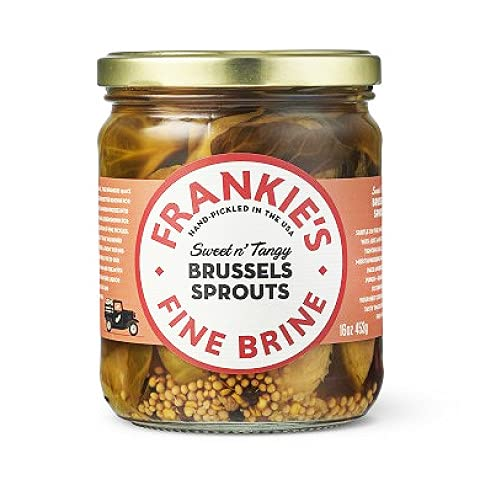 Frankie's Fine Dallas Mall Brine Brussels Sprouts Frankie's pick - 453g Max 86% OFF