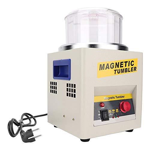Polijstmachine voor sieraden, multifunctioneel glas, magnetisch, polijstmachine voor het polijsten van sieraden voor het reinigen van oppervlakken geschikt voor licht ijzer, metaal, non-ferro metaal 02