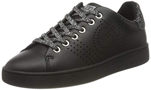 Guess Damen RANVO5/ACTIVE Lady/Leather LIK Oxford-Schuh, Schwarz, 36 EU