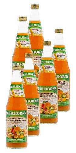 Mehlhorns Multivitamin- Mehrfrucht- Nektar (6 x 0,7 l)