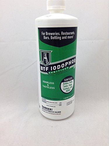 National Chemicals Incorporated 3K-67C3-31UW Iodophor Sanitizer 32 oz