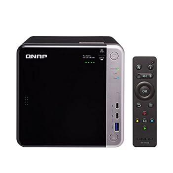 QNAP TS-453BT3-8G-US 4-Bay Thunderbolt 3 NAS Intel Celeron Apollo Lake J3455 Quad-core CPU 8GB RAM SATA 6Gb/s