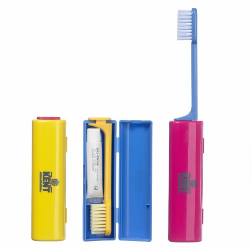 Kent Kit brosse à dents + dentifrice spécial voyage
