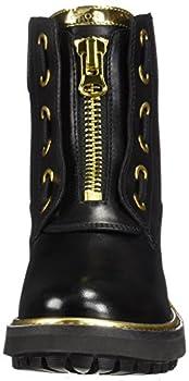 Geox D Asheely Plus A, Bottes Motardes Femme, Noir (Black C9999), 39 EU