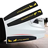 TIDO Universal Car Front Rear Bumper Lip Protector Guard,Side Skirt Anti-Collision Patch Bumper Guard Strip for Cars SUV Pickup Truck (Pack of 2)