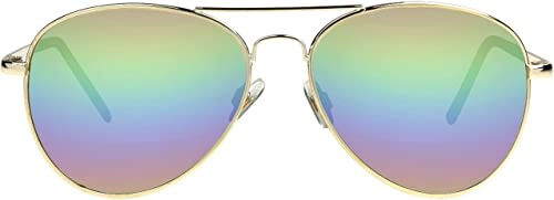 2021 Foster high quality Grant Women's online sale Sunglasses Dolly Rainbow Fashion Aviator Summer online