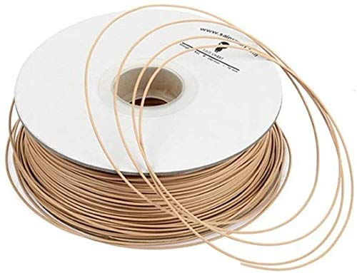 SainSmart Imported Light Brown Wood Filament 1kg/2.2lb for 3D Printers Reprap, Afinia, Solidoodle 2, Printrbot LC, MakerGear M2 and UP! (Afinia H-Series) Printer Accessories