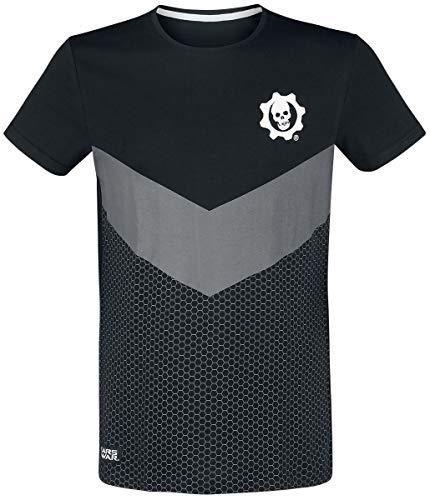 Difuzed Gears of War - Tonal Colorblock Men's T-Shirt (l)