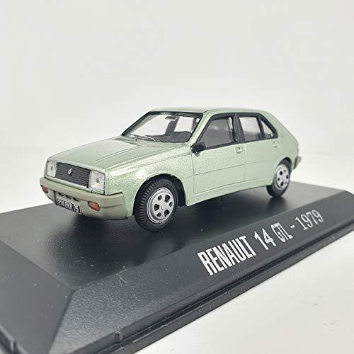 Desconocido 1/43 Auto Coche Car MOELO R14 GTL Verde 1979 ALTAYA