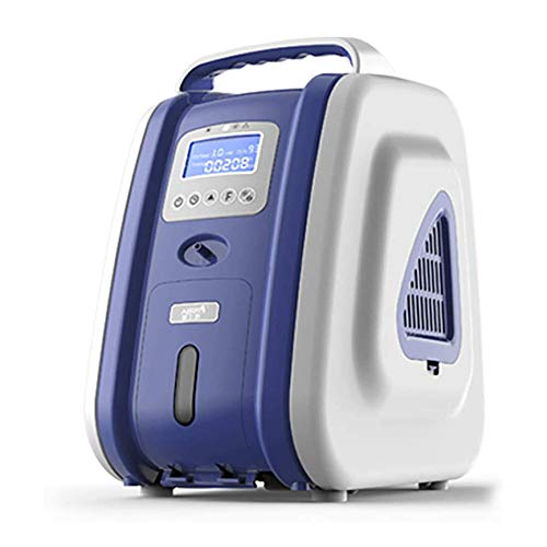 Oxygen Concentrator Generator, draagbare thuis zuurstof machine, Home Air Purifier, 93% High Purity, 1-5L / Min AC 110V Flow