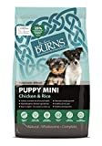 Burns Pet Nutrition Hypoallergenic Complete Dry Dog Food Puppy Mini Chicken and Rice 6 kg