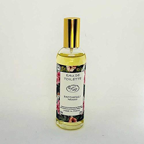 Savonnerie de Bormes: Eau de Toilette Patchouli, 100 ml Flasche mit Zerstäuber (Spray)