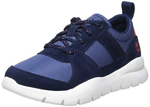 Timberland Boroughs Project Mix (Youth), Sneakers Basse, Blu Navy, 34 EU