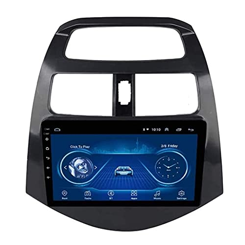Radio de coche Android 8.1, pantalla táctil de 9 pulgadas, para Chevrolet Spark 2010 – 2014, soporta Bluetooth DAB + CD DVD WiFi Android Auto USB DIN