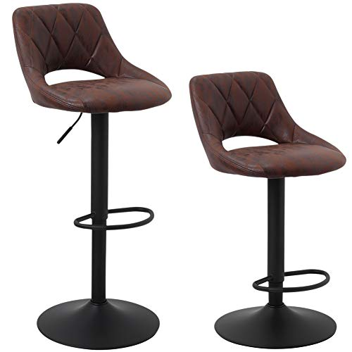 bar chairs with back - 7