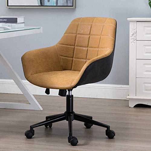 MGE Gaming stoel, in hoogte verstelbare PU lederen manager bureaustoel met torsie controle