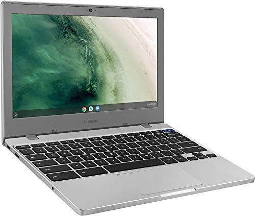 """Samsung Chromebook 4 11.6"""" Laptop Computer for Business Student, Intel Celeron N4000 up to 2.6GHz, 4GB LPDDR4 RAM, 32GB eMMC, 802.11ac WiFi, Bluetooth, Chrome OS, iPuzzle Mousepad, Online Class Ready"""