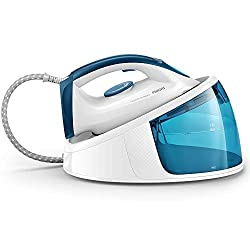 Ultra-fast ironing thanks to 110 g/minute continuous steam and 200 g steam boost Powerful continuous steam and 5.2 bar pump pressure for easier crease removal even on the toughest fabrics Compact and lightweight for easy storage Easy fill and quick s...
