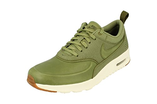 nike air max thea PRM womens running trainers 616723 sneakers shoes (uk 3.5 us 6 eu 36.5, palm green sail 305)