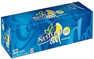 Coca-Cola, Nestea Cool Iced Tea, 355ml, 12pk, Soft Drinks - {Imported from Canada}