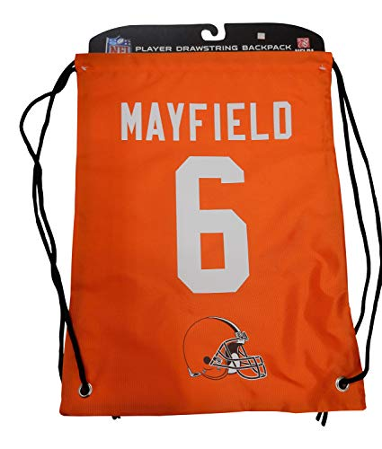 Cleveland Browns - Baker Mayfield #6 - Player String Backpack