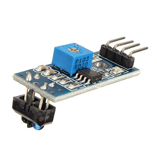 hgbygvuy 3pcs TCRT5000 Interruttore in ponderazione a infrarossi IR IR Barrier Line Track Sensor MODULO D