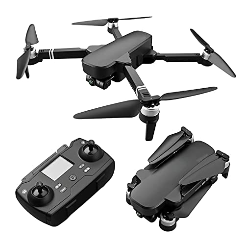 Drones con cámara para Adultos, cámara EIS de 2 Ejes Gimbal 4K de 2500 W, Tiempo de Vuelo de 56 Minutos, Motor sin escobillas, transmisión FPV de 5 GHz, Retorno automático a casa con GPS Dual, altitu
