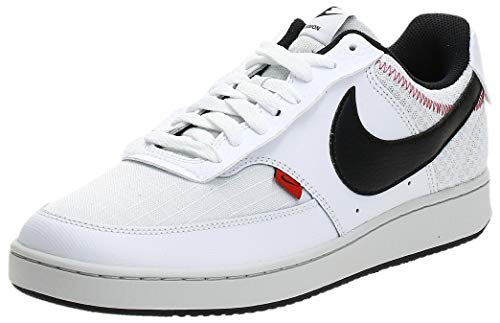Nike Court Vision LO Prem, Zapatillas para Hombre, Blanco White Black Photon Dust Gym Re 100, 47.5 EU