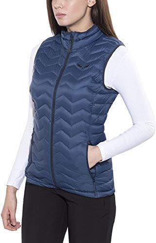 Salewa Fanes Dwn W VST - Gilet de Fitness pour Femme, Couleur Bleu, Taille 46/40