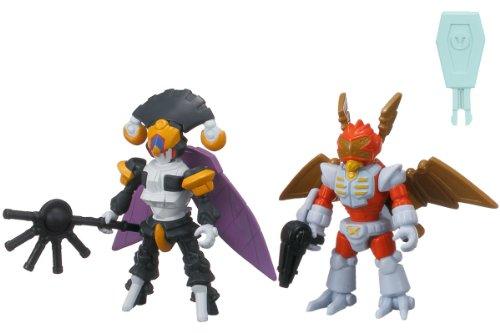 The Little Battlers - LBX Battle Custom Figure Set LBX Nightmare & LBX Bibinbird X (Completed Figures Set)