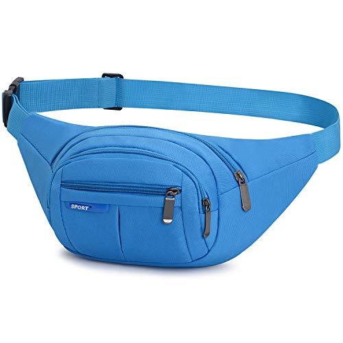 Yooluan Waterproof Bum Bag Waist Fanny Packs Travel Hiking Outdoor Sport...