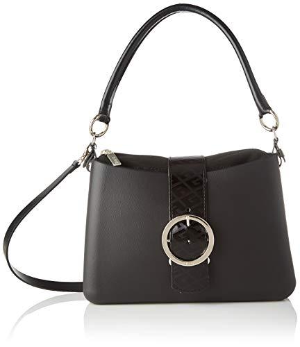 O Bag Borsa Glam, Pochette Da Giorno Donna, Nero, 27X8X19 Cm (W X H X L)