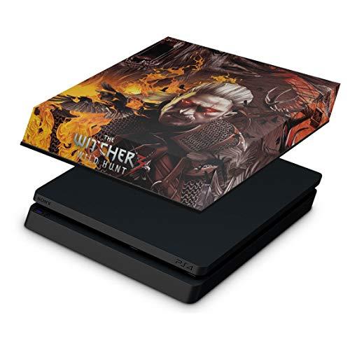 Capa Anti Poeira para PS4 Slim - The Witcher #B