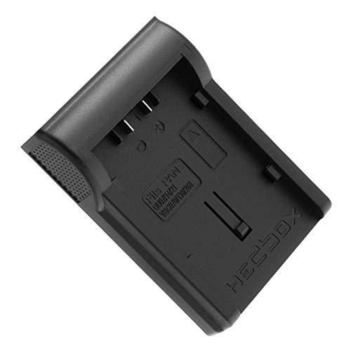 HEDBOX | RP-DVBG6 | Piastra caricabatteria per Panasonic VW-VBG130; Batteria VW-VBG6