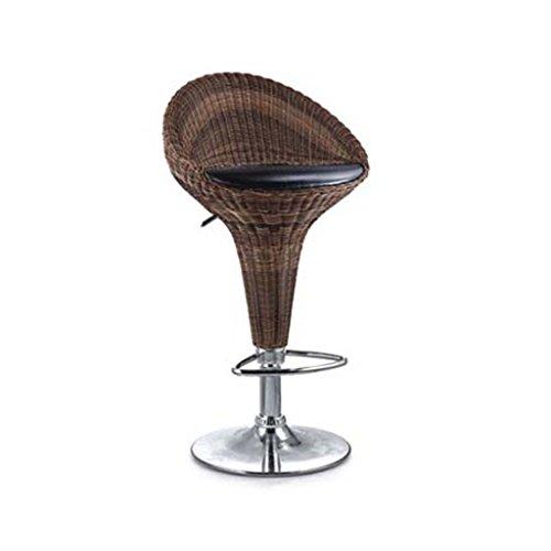 Bar stool-TOYM Heben Sie Hocker/kreativer Barhocker/zurück schwingen Korbstuhl