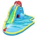 Deluxe Inflatable Water Slide Park – Heavy-Duty Nylon for...