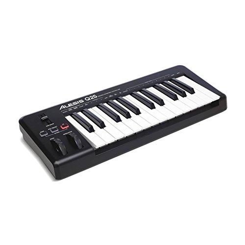 Alesis Q25 - Teclado controlador MIDI USB compacto