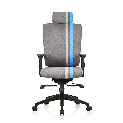 Liberate Game High Back Fabric Chair (Blue) (Blue)